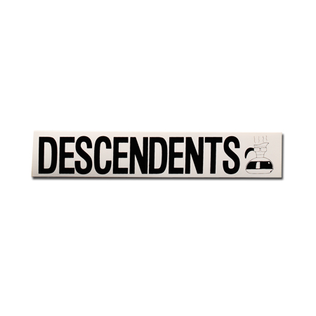 "IMAGE | Descendents - Logo and Coffee Pot Sticker (2"" x 9.5"")"