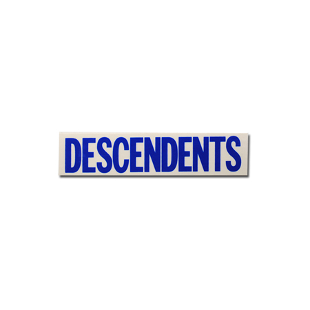 "IMAGE | Descendents - Descendents Logo Blue (1.5"" x 7"")"
