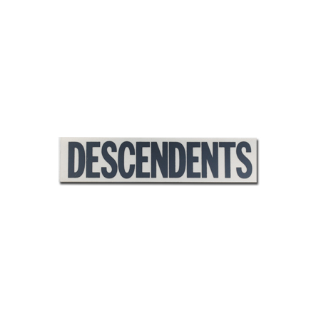 "IMAGE | Descendents - Descendents Logo Gray (1.5"" x 7"")"