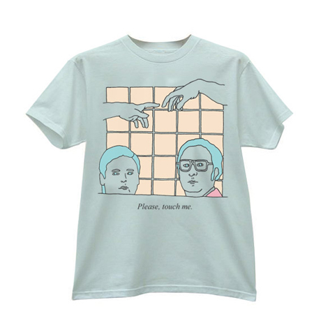 IMAGE | Tim and Eric - Please, Touch Me Shirt