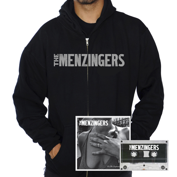 IMAGE | The Menzingers - On The Impossible Past CD & Canary Hoodie