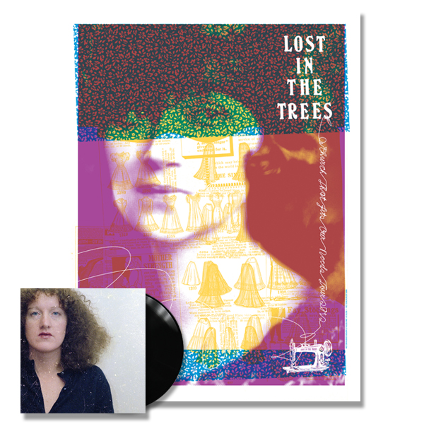 IMAGE | Lost In The Trees - A Church That Fits Our Needs Print & LP