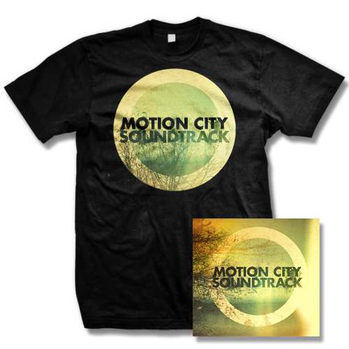 IMAGE | Motion City Soundtrack - Go CD and Album Shirt Mens