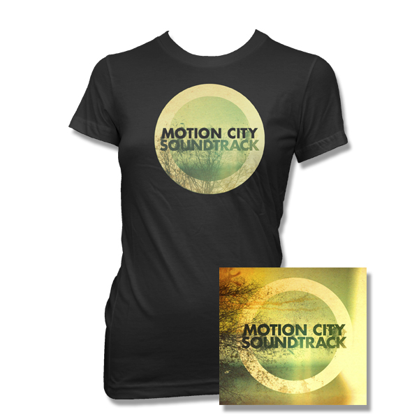 IMAGE | Motion City Soundtrack - Go CD and Album Shirt Womens