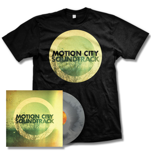 IMAGE | Motion City Soundtrack - Go - Swirl color LP and Album T