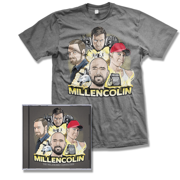IMAGE | Millencolin - The Melancholy Connection CD/DVD & album T