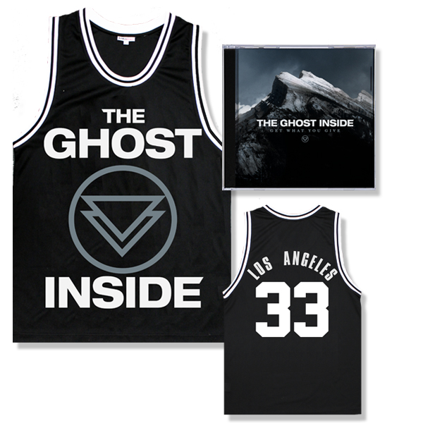 IMAGE | The Ghost Inside - Get What You Give CD and Jersey