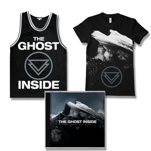IMAGE | The Ghost Inside - Get What You Give CD, Album Shirt, & Jersey