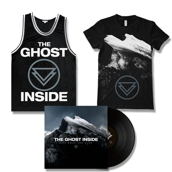 IMAGE | The Ghost Inside - Get What You Give LP (Black), Album Shirt, & Jersey