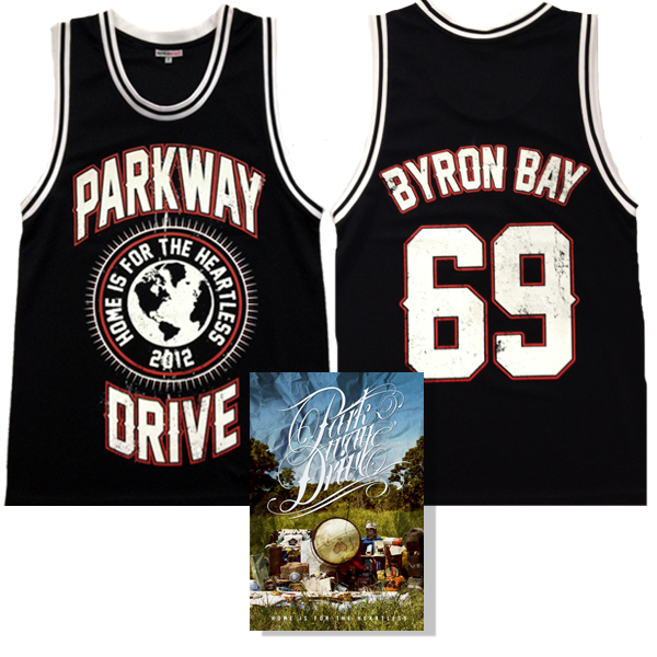 IMAGE | Parkway Drive - Home Is For The Heartless DVD & Jersey