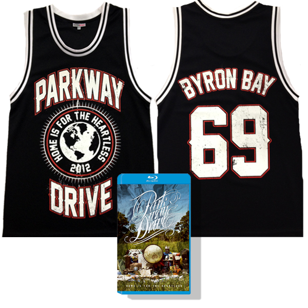 IMAGE | Parkway Drive - Home Is For The Heartless Blu-Ray & Jersey