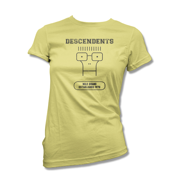 IMAGE | Descendents - Milo Brand Girlie Shirt