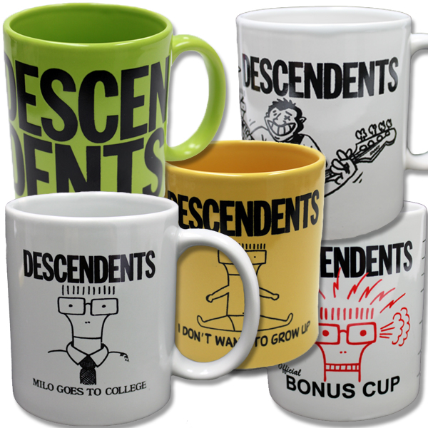 IMAGE | Descendents - Mug Mug Mug Collection Set