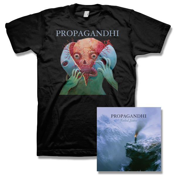 IMAGE | Propagandhi - Failed States CD & Splitter Tee