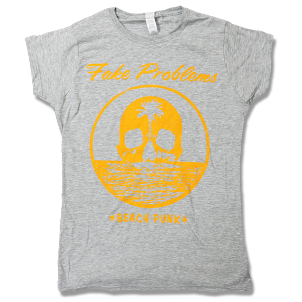 IMAGE | Fake Problems - Womens Beach Punk - Gray