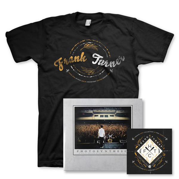 IMAGE | Frank Turner - Last Minutes & Lost Evenings DVD, Book & Mens Shirt