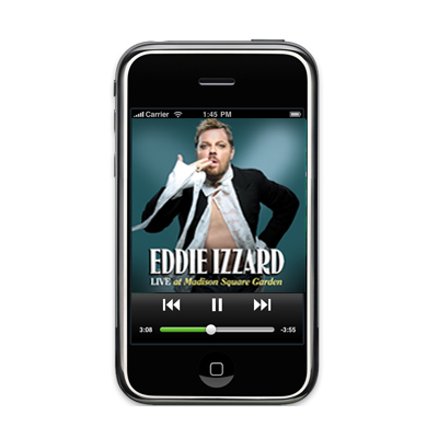 IMAGE | Eddie Izzard - Live at Madison Square Garden Mp3 Audio