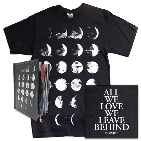 IMAGE | Converge - All We Love Bundle - Deluxe CD & Tee (black)