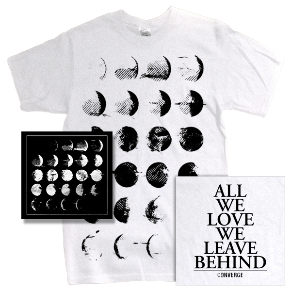 IMAGE | Converge - All We Love Bundle - CD & Tee (white)