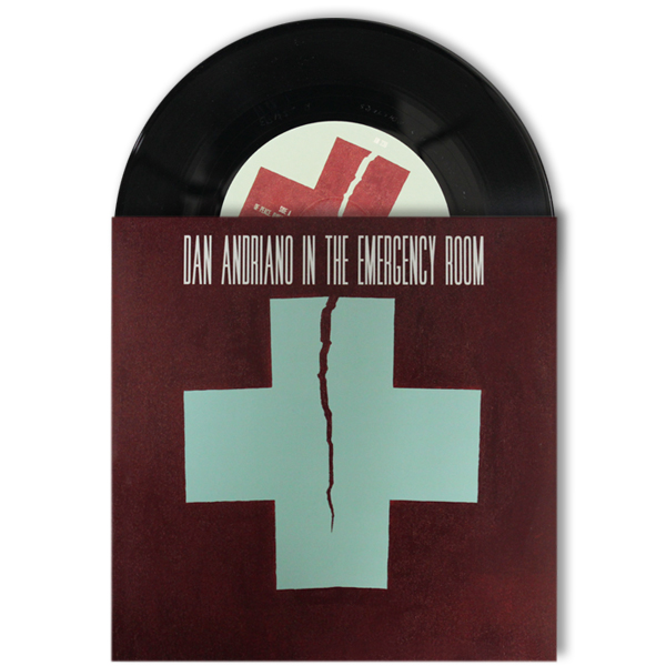 "IMAGE | Dan Andriano In The Emergency Room - Of Peace, Quiet & Monsters 7"" - Black"