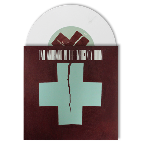 "IMAGE | Dan Andriano In The Emergency Room - Of Peace, Quiet & Monsters 7"" - Opaque White"