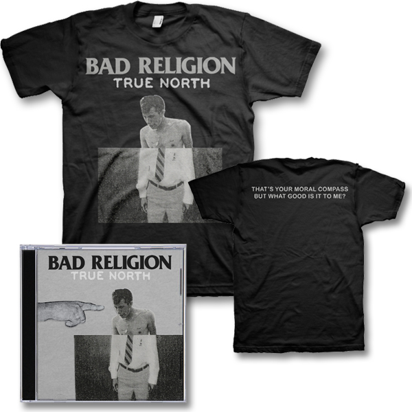 IMAGE | Bad Religion - True North CD & Album Tee