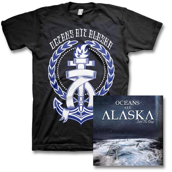 IMAGE | Oceans Ate Alaska - Into The Deep CD & Anchor Tee