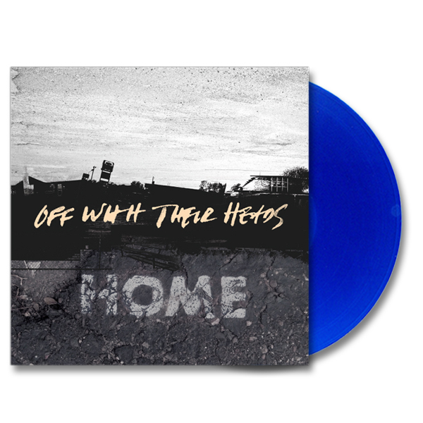 IMAGE | Off With Their Heads - Home LP - Translucent Blue