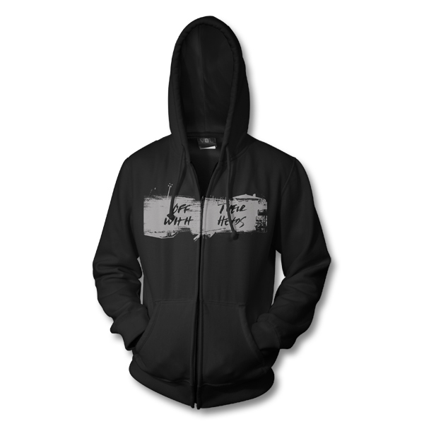IMAGE | Off With Their Heads - Stacked Logo Hoodie