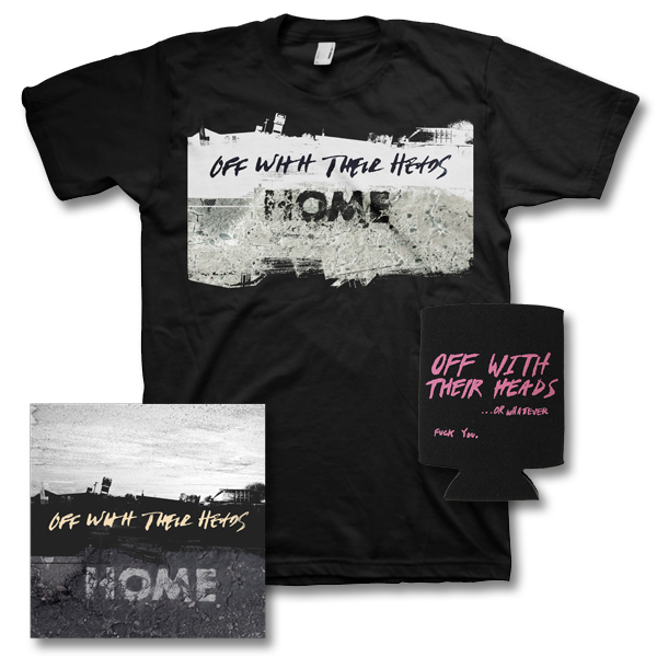 IMAGE | Off With Their Heads - Home - CD & Album Tee