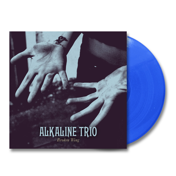 IMAGE | Alkaline Trio - Broken Wing EP - Opaque Blue