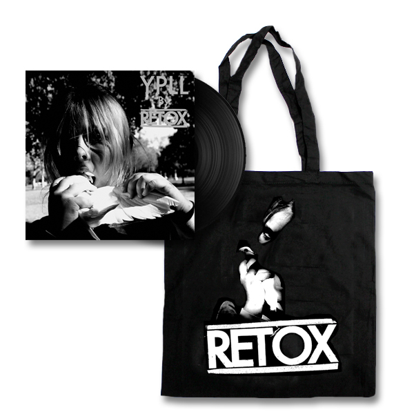 IMAGE | Retox - YPLL LP - (Black) & Tote Bag