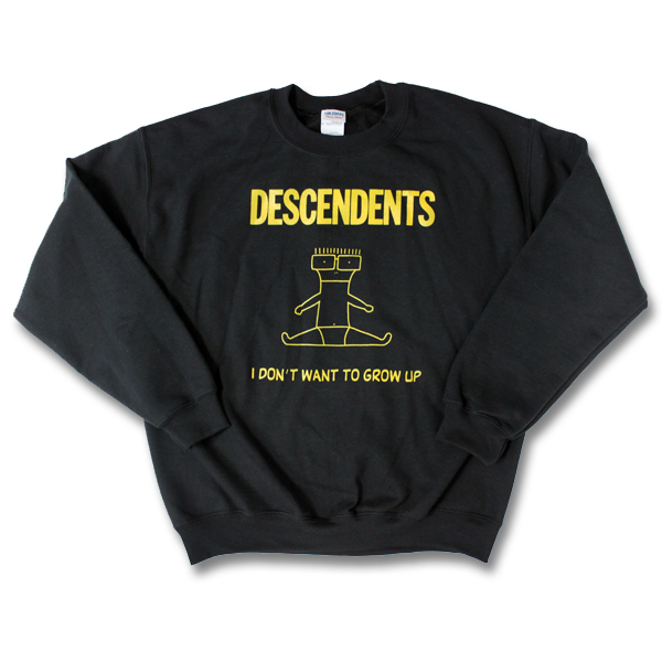 IMAGE | Descendents - I Don't Want To Grow Up Crewneck - Black