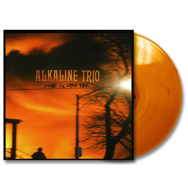 IMAGE | Alkaline Trio - Maybe I'll Catch Fire LP - Gold