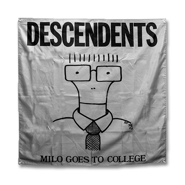 IMAGE | Descendents - Milo Goes To College Flag