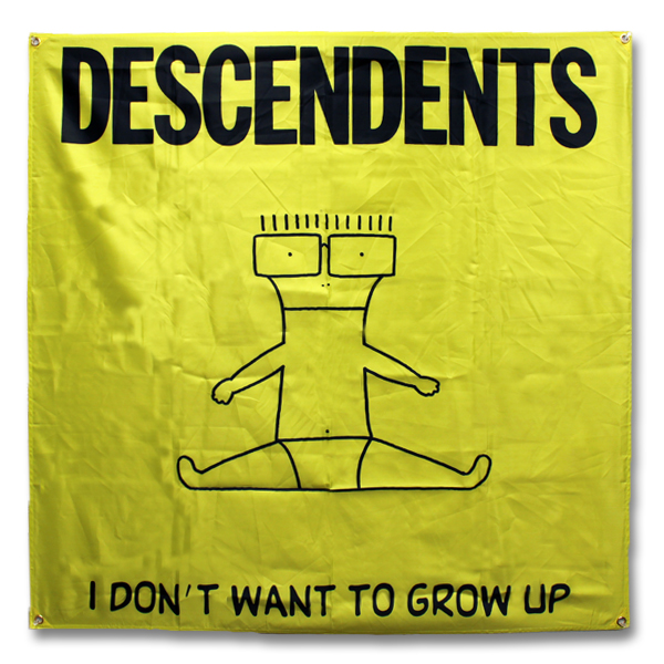IMAGE | Descendents - I Don't Want To Grow Up Flag