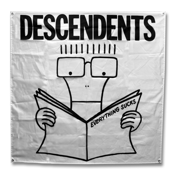 IMAGE | Descendents - Everything Sucks Flag
