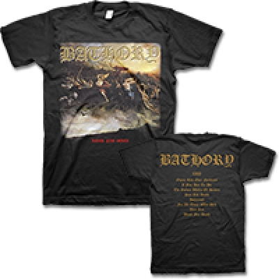 Bathory - Blood Fire Death Tee