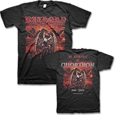 Bathory - In Memory T-Shirt (Black)