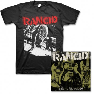 Rancid - Honor Is All We Know - CD & Boot Tee