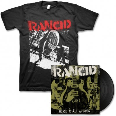 Rancid - Honor Is All We Know - LP & Boot Tee