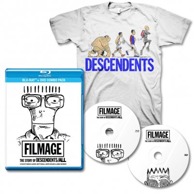 Descendents - Filmage DVD/BLU-RAY & Ascent Of Man Tee