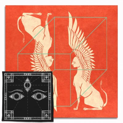 saintseneca - Such Things CD & Handkerchief (Black)