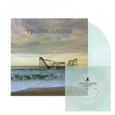 Propagandhi - Victory Lap LP (Clear) + Flexi (Clear) Bundle