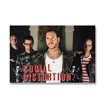 "Social Distortion - 24"" x 36"" Band Poster"