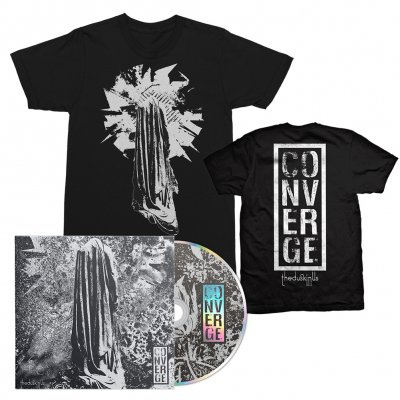Converge - The Dusk In Us CD + The Dusk In Us Art Tee (Black) Bundle