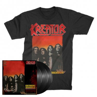 kreator - Extreme Aggression 3xLP (180g Black) + Extreme Aggression T-Shirt (Black) Bundle
