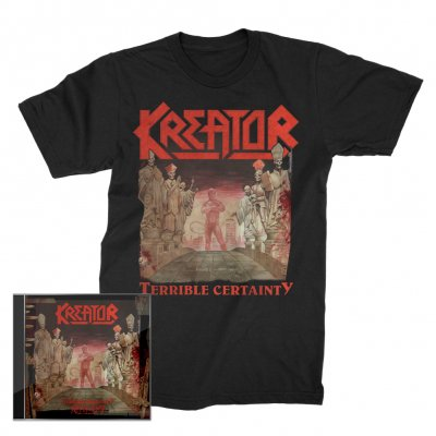 kreator - Terrible Certainty 2xCD + Terrible Certainty T-Shirt (Black) Bundle