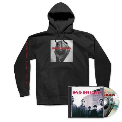 Bad Religion - Stranger Than Fiction CD (Remastered) + Hoodie Bundle
