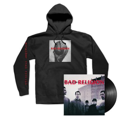 Bad Religion - Stranger Than Fiction Remastered LP (Black) + Hoodie Bundle